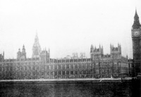 Houses of Parliament with Big Ben on the right, London
